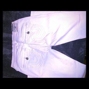 Women's true religion jeans size 30 skinny fit
